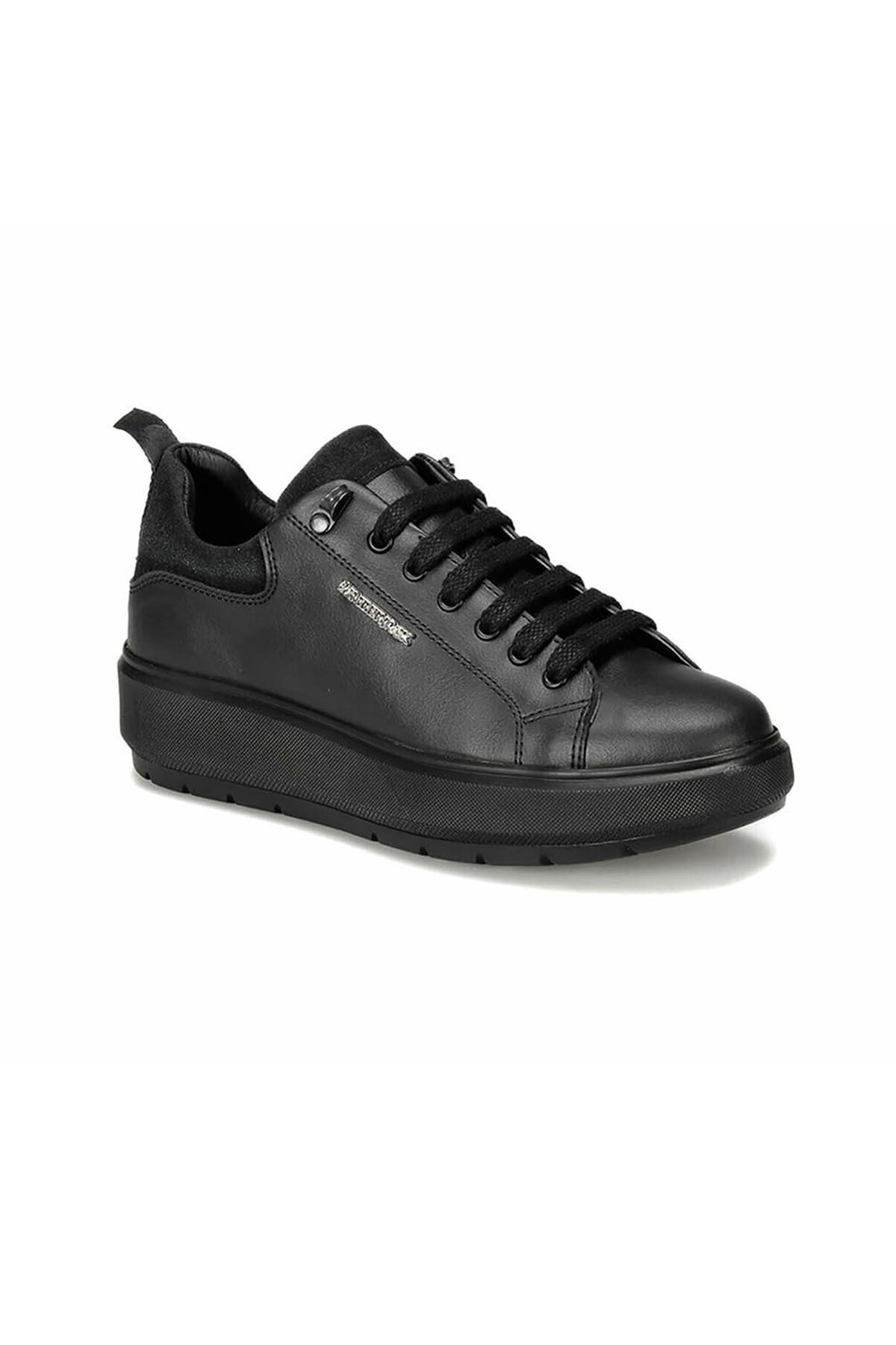 lumberjack Kadın Siyah Kalın Taban Ayakkabı Fıona 100434702 2