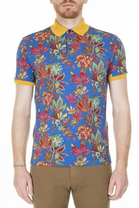 ETRO Regular Fit Polo T Shirt Erkek Polo 1y800 4062 200