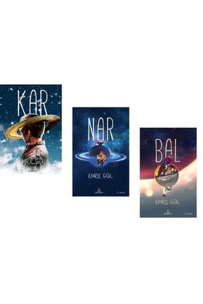 Ephesus Yayınları Kar + Nar + Bal Set Emre Gül