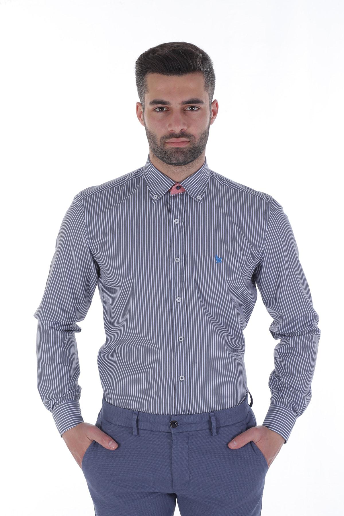 Diandor Uzun Kollu Erkek Gömlek V13 1912013 1