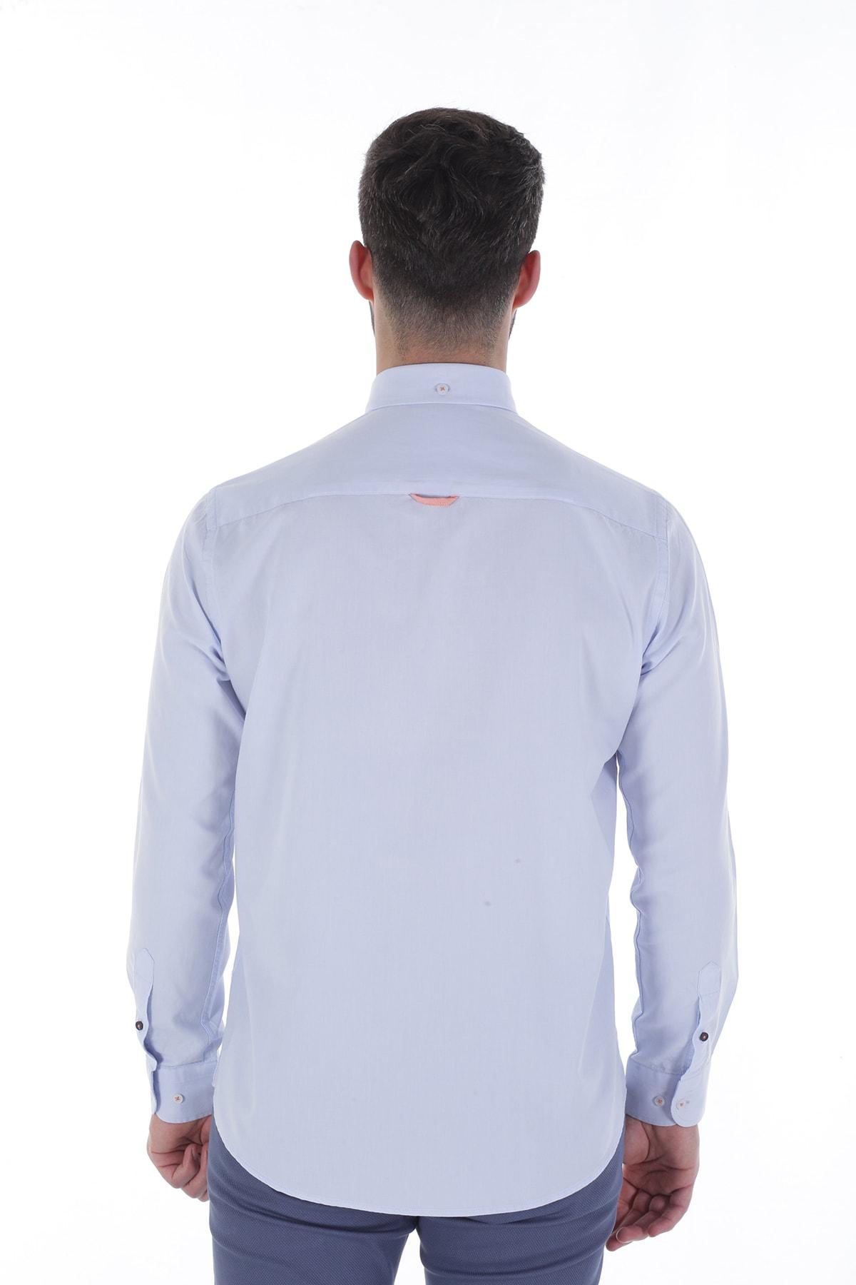 Diandor Uzun Kollu Erkek Gömlek Gri/Grey 1912007 2
