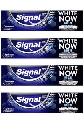 Signal White Now Men Diş Macunu 75 Ml X 4 Adet