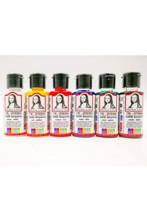 Monalisa Mona Lisa Batik Boyama Seti 6 Renk