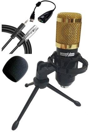 Lastvoice Bm800 Sy Mini Tripodlu Youtuber Mikrofon Ses Kartlı