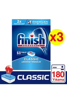 Finish Classic Bulaşık Makinesi Deterjanı 3 X 60 Tablet