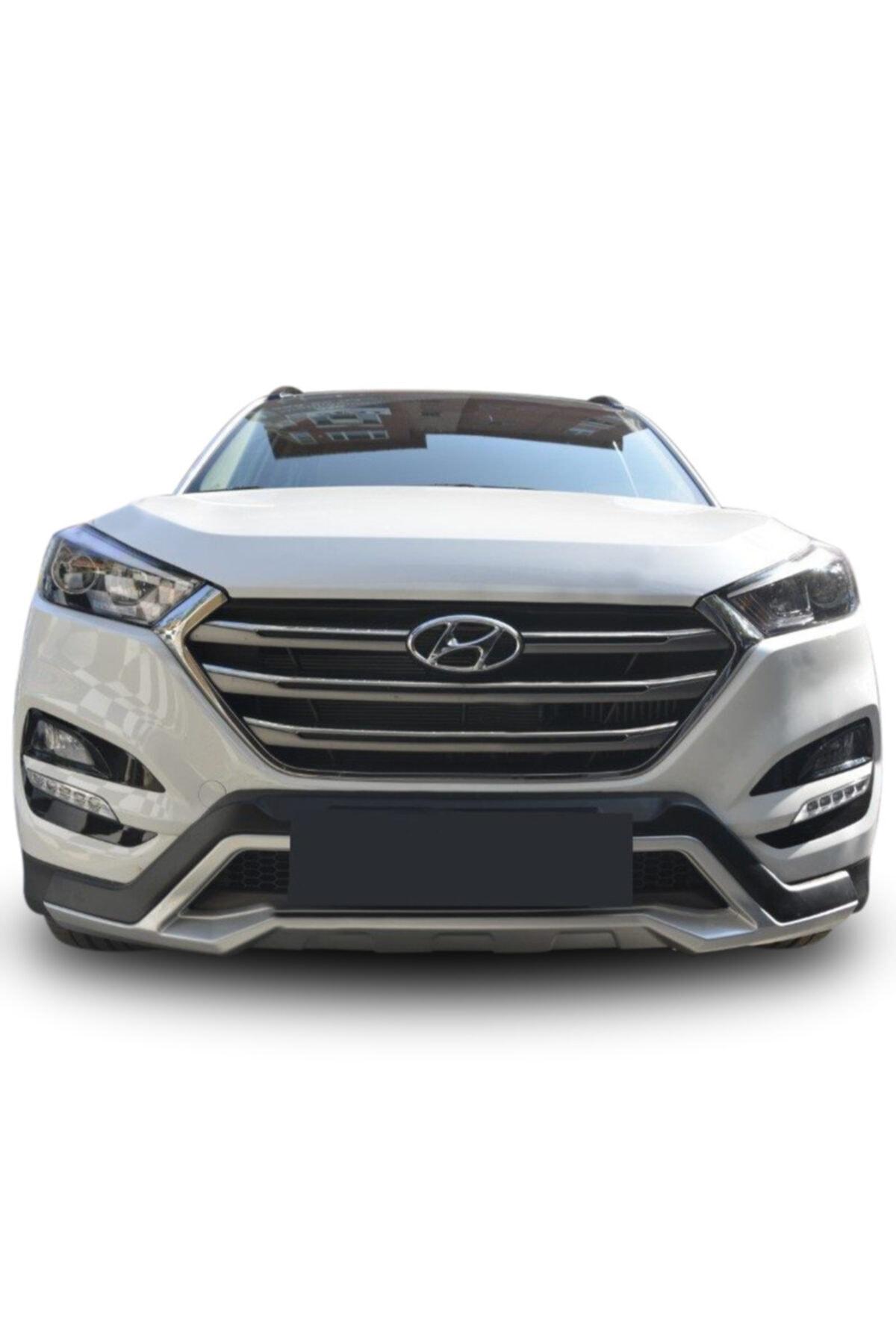 OEM Hyundai Tucson Ön Arka Tampon Koruması Difüzör Turbolu Modeller İçin 2015 / 2017 2