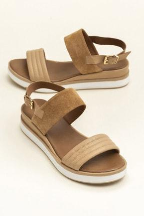 Elle Shoes SUNNIVA Naturel Süet Kadın  20YLT113026