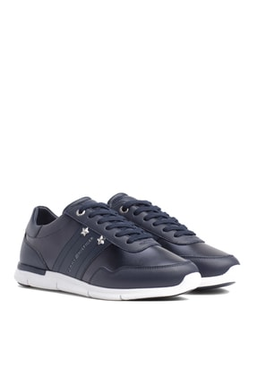 Tommy Hilfiger Kadın Tommy Essential Leather Sneaker