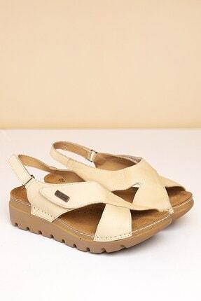 Pierre Cardin PC-1378 Bej Kadın Sandalet