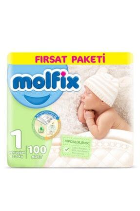 Molfix Bebek Bezi Yenidoğan 100'lü Fırsat Paketi 3d