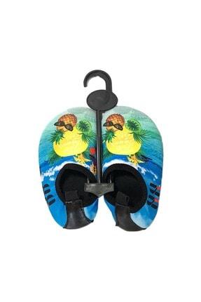 walkie Çocuk Turkuaz Sarı Tropicana  Deniz Ayakkabısı