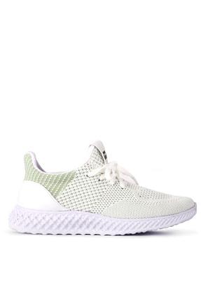 Slazenger Atomıc Sneaker Kadın Ayakkabı Kırık Beyaz