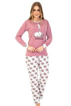 walkie Dawn Pembe Pijama Takımı