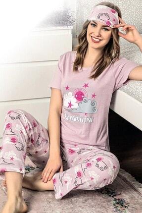 walkie Sunshine Lila Kadın Pijama Takımı