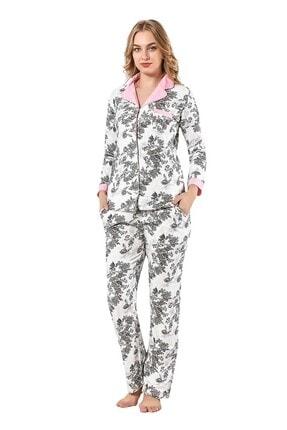 walkie Antoinette Ekru Pijama Takımı