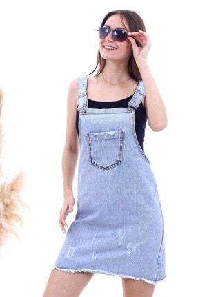 Cotton Mood 20063311 Kot Mavi Salopet Elbise Kmav