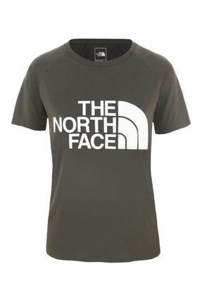 THE NORTH FACE Graphic Play Hard Kadın T-Shirt Haki
