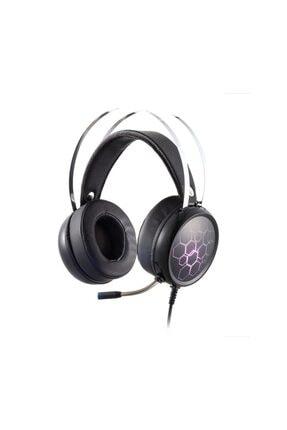 MF PRODUCT Rgb Kablolu Kulak Üstü Gaming Kulaklık Gri 0163