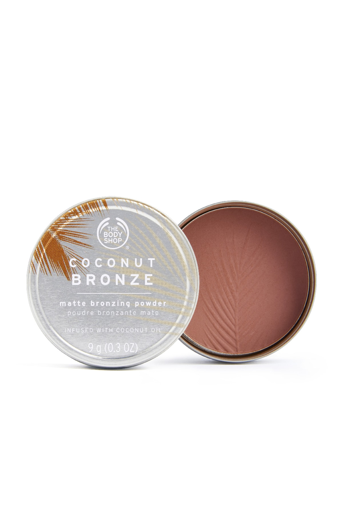 THE BODY SHOP Coconut Bronze Mat Bronz Pudra Dark 9 G 5028197893842