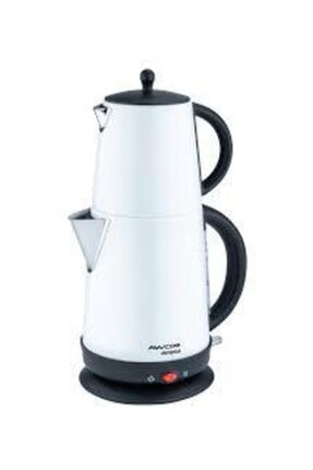 AWOX Demplus  Beyaz Paslanmaz Çay Makinesi