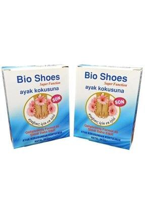 jetfast 2 Kutu Bio Shoes Ayak Kokusu Giderici 120 Gün Etkili Koku Önleyici  Ayakkabı Içi Kokusunu Giderir