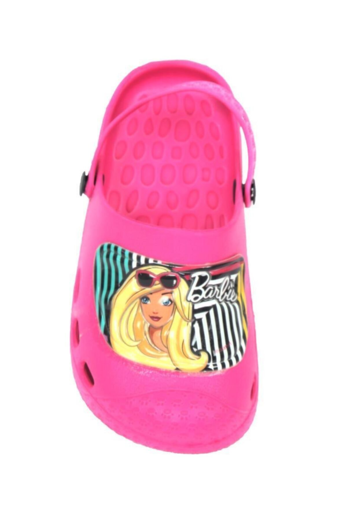 Barbie Kız Çocuk Fuşya Terlik Deniz Sandaleti 2