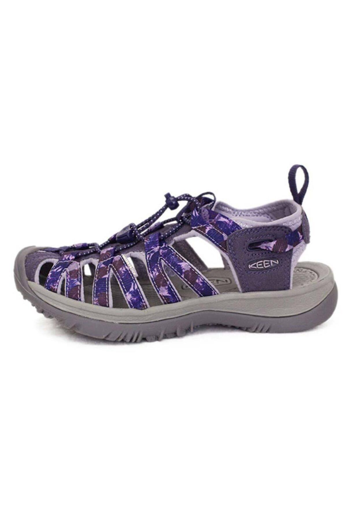 Keen Kadın Gri Mor Whisper Spor Sandalet 2