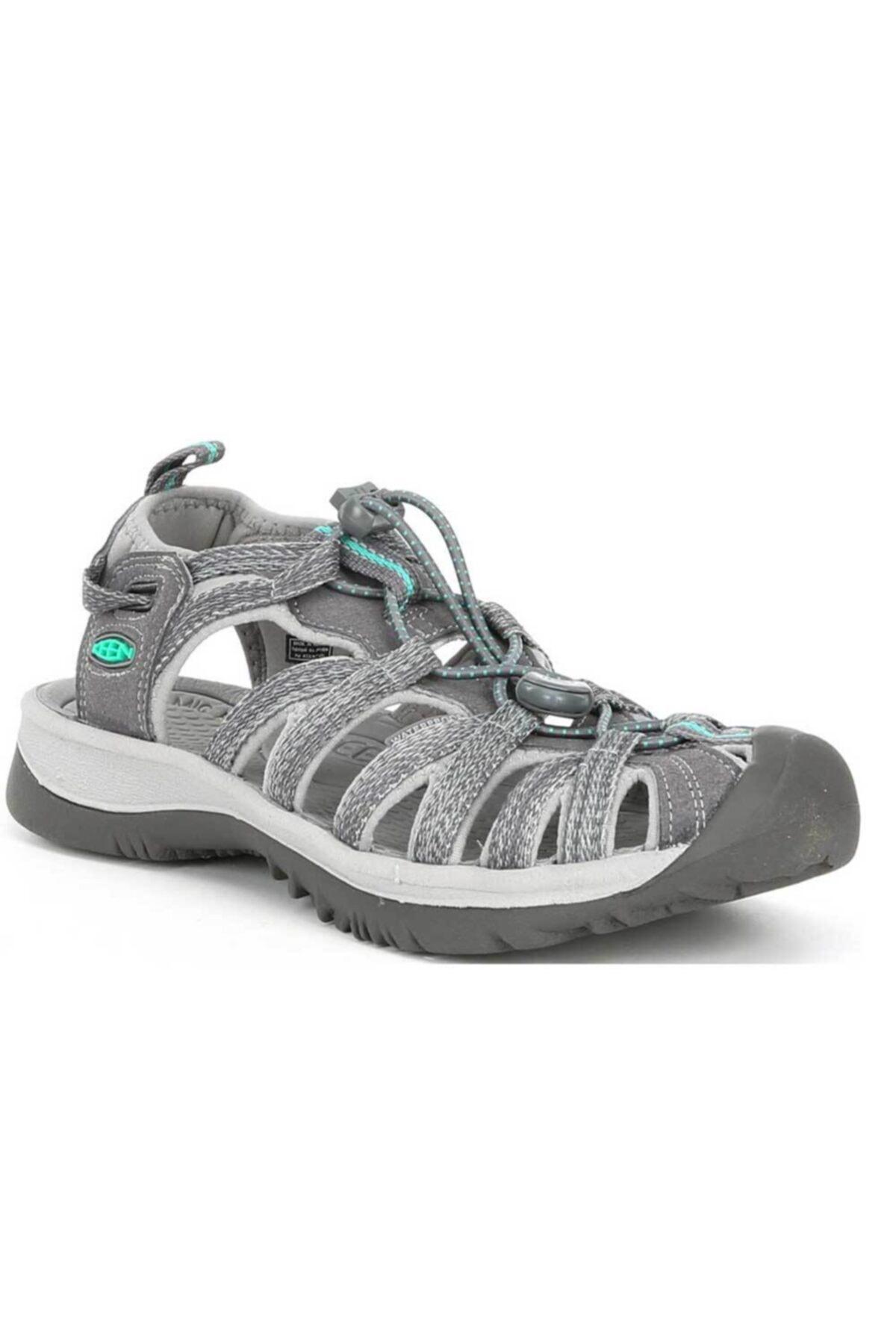Keen Kadın Gri Yeşil Whisper Spor  Sandalet 1