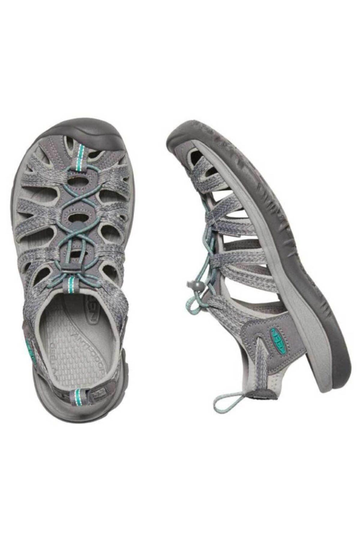 Keen Kadın Gri Yeşil Whisper Spor  Sandalet 2