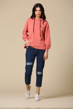 Loreen Kadın Lacivert Mom Jeans 30400