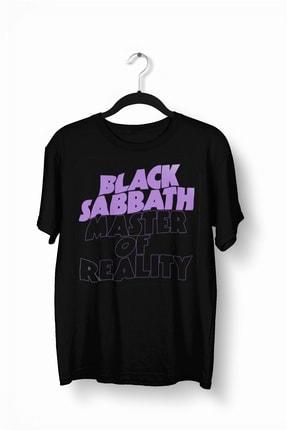 Tshigo Black Sabbath Master of Reality Baskılı Erkek T-Shirt - 2019TS162