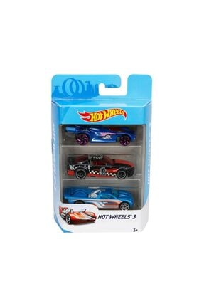 HOT WHEELS 3'lü Araba Seti K5904