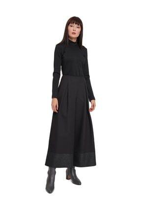 Mizalle Mızalle Pul Detaylı Pantolon (siyah)