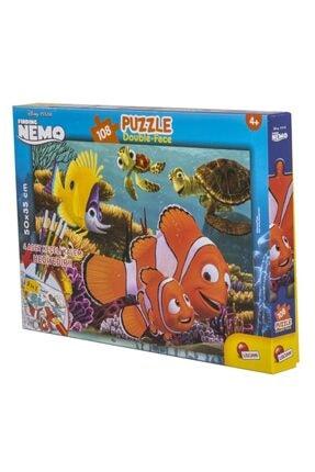 Disney Planes Disney Nemo 108 Parça Kalemli Puzzle Lisciani 56675