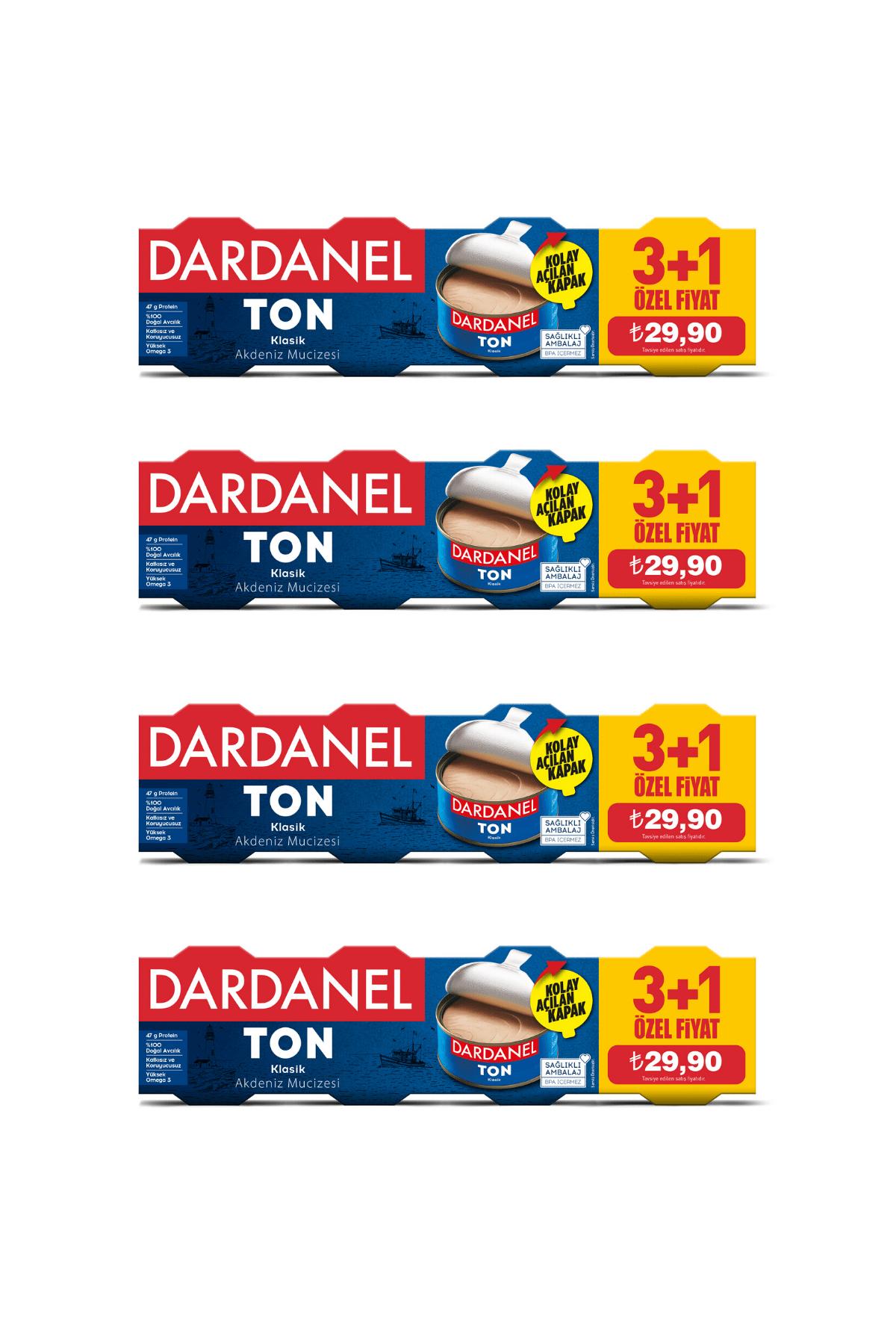 Dardanel 75 GRx4 Dardanel Ton Balığı 4'lü Paket 1