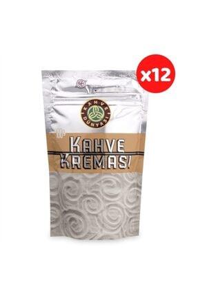 Kahve Dünyası Kahve Kreması 100 Gr (12'li Paket) 12 Paket 100 Gr Kahve Kreması