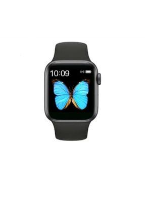 ROSSTECH Watch 500 Serisi 42mm Kordonlu - Konuma özellikli - Çağrı cevaplama - WhatsApp Bildirimleri - Siyah