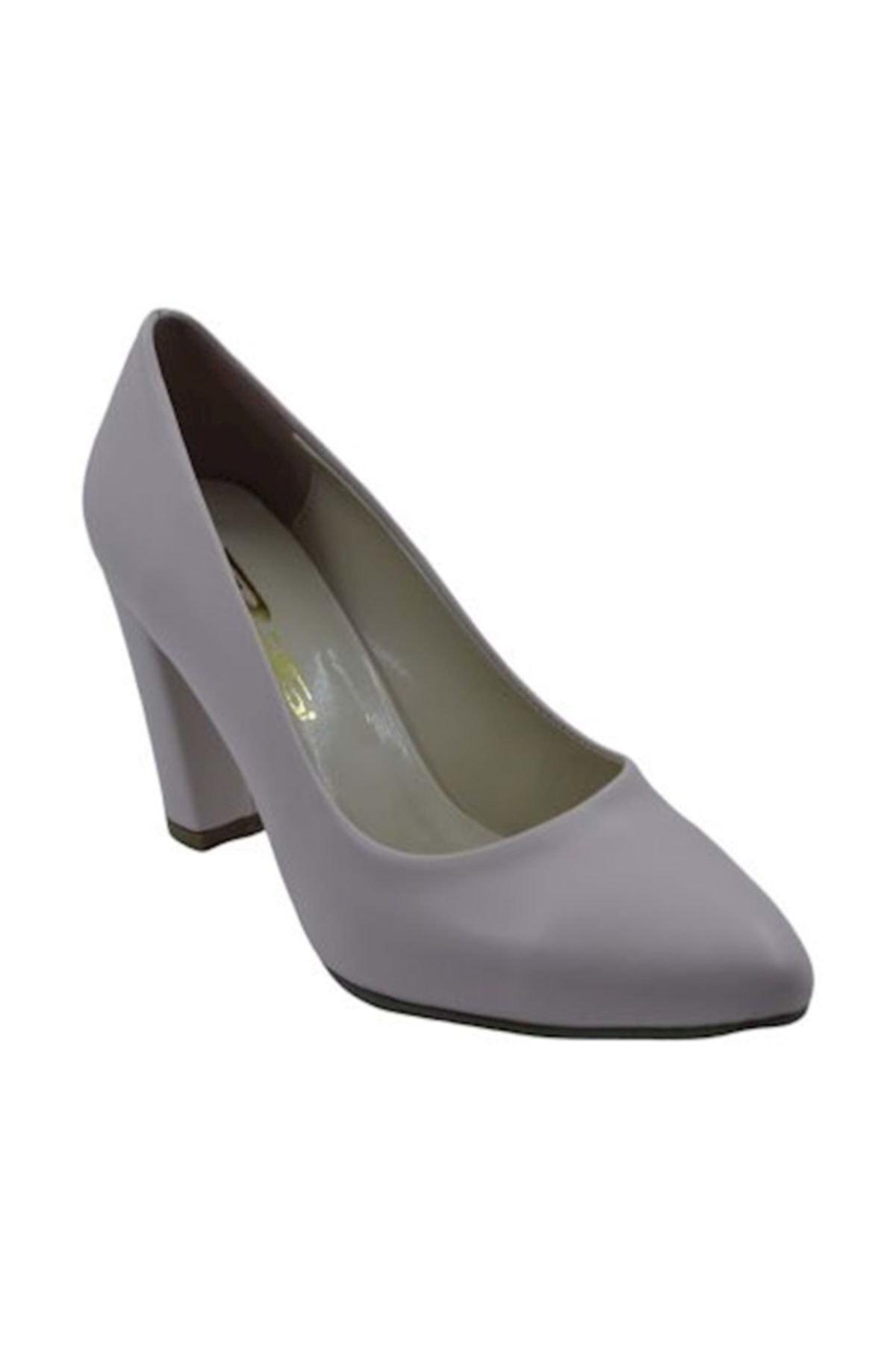 PUNTO 462003 Kadın Topuklu Ayakkabı - Pudra - 37 1