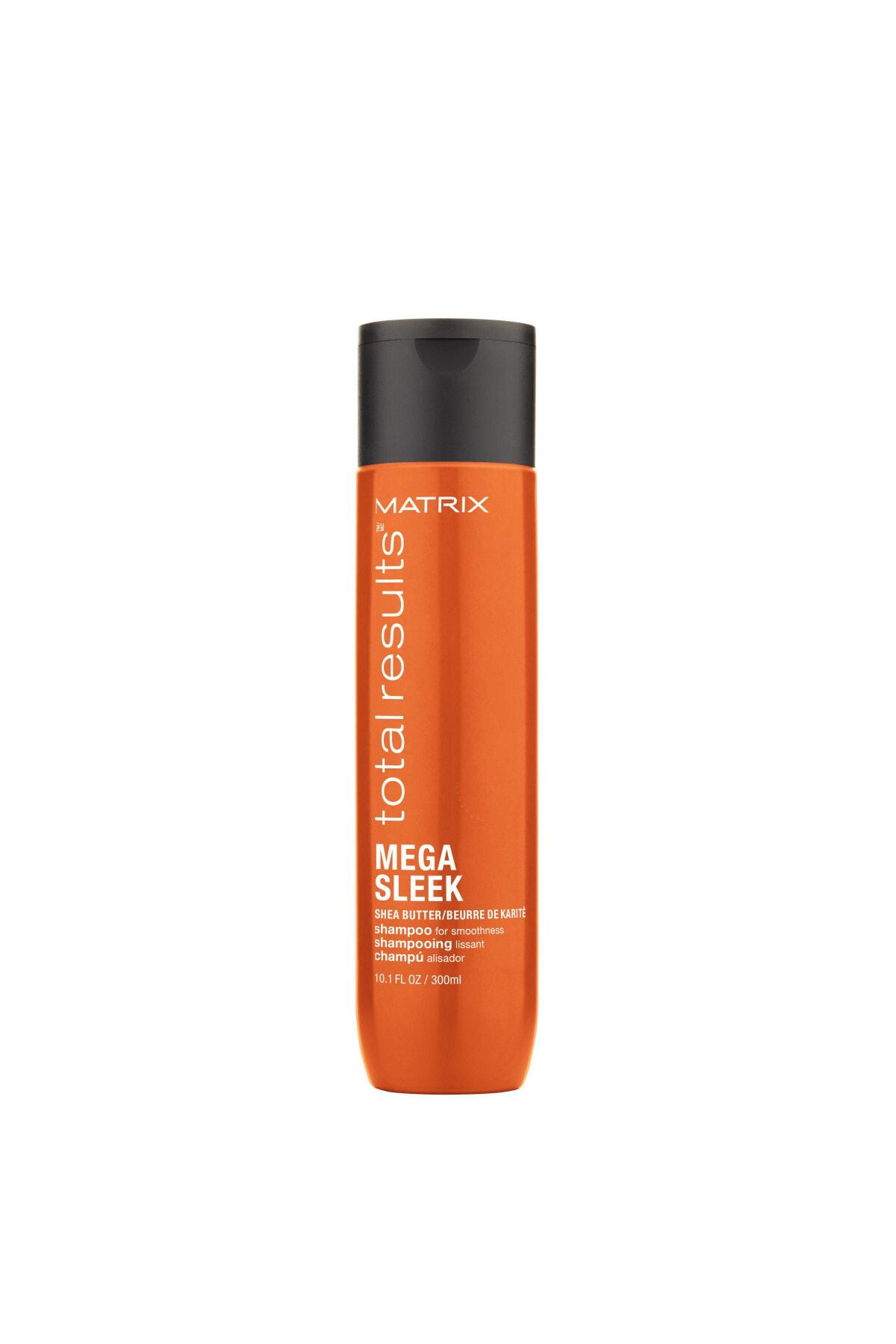Matrix s Mega Sleek Zor Şekil Alan ve Kabaran Saçlar için Şampuan 300 ml