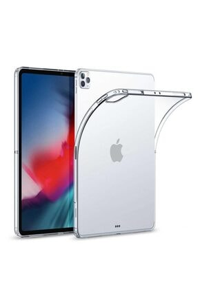 Apple Ipad Pro 12.9'' 2020 Kılıf, Transparent Soft Şeffaf
