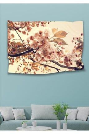 Hediyeler Kapında 110 X 150 Kır Çiçekleri Dekoratif Duvar Örtüsü