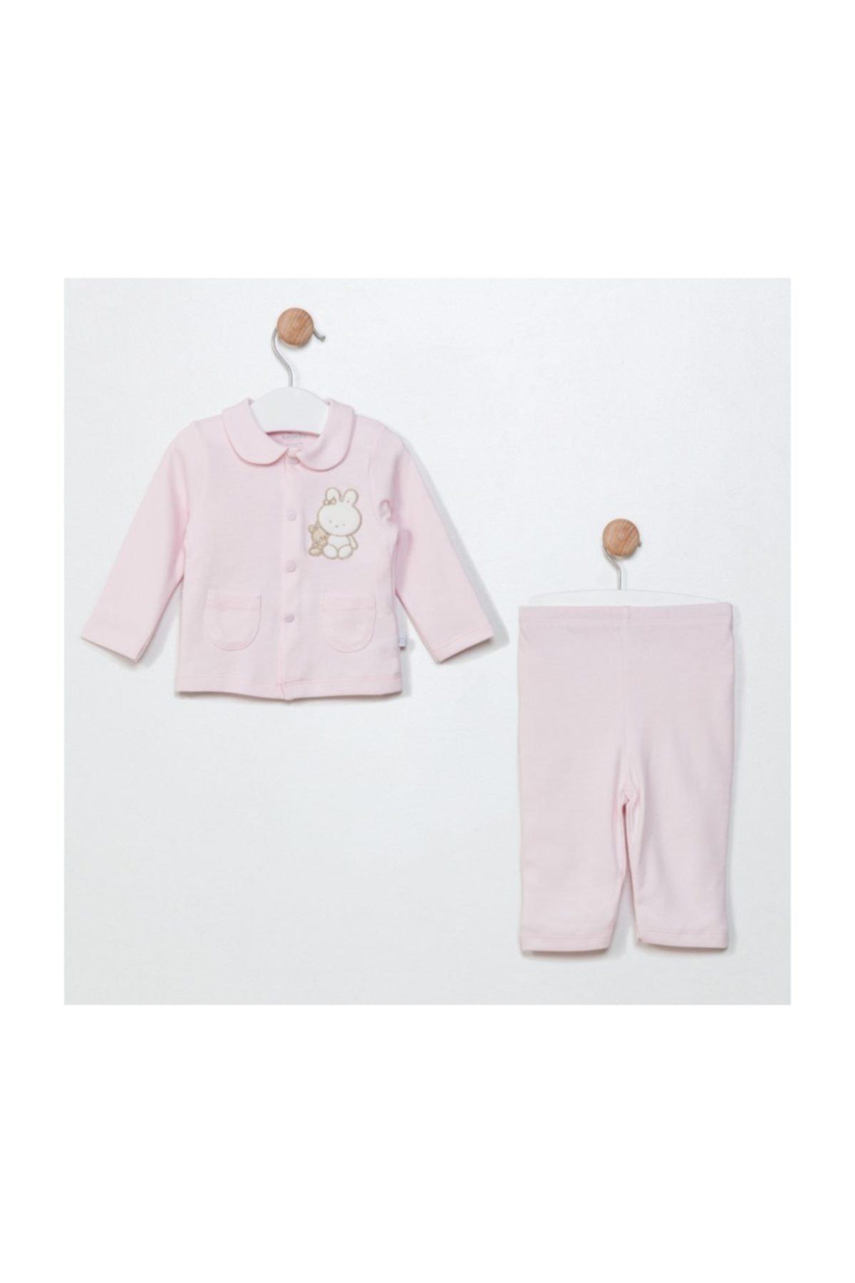 Funna Baby Ceket Pantolon - Grande Famiglia - Pembe 1