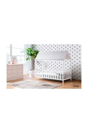 CaddeYıldız Gri Montessori Yatak 950 Bgk