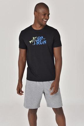 bilcee Siyah Erkek T-shirt  GS-8815