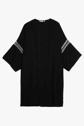 Koton Kadın Siyah Kimono&Kaftan 0YAK68189BW
