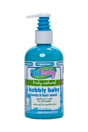 Trukid Trubaby Bubbly Baby Body and Hair Wash 236 ml