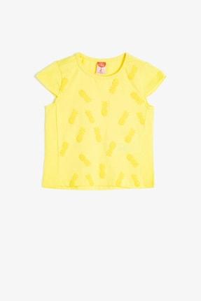 Koton Kids Sarı Kız Bebek T-Shirt