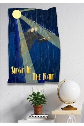 Hediyeler Kapında 110 X 150 Sing In The Rain Dekoratif Duvar Örtüsü