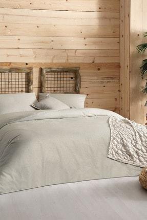 Yataş Bedding Linea Ranforce Tek Kişilik Nevresim Takımı - Yeşil