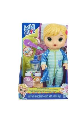 Hasbro Baby Alive Bebeğim Hasta Oldu - Sarışın